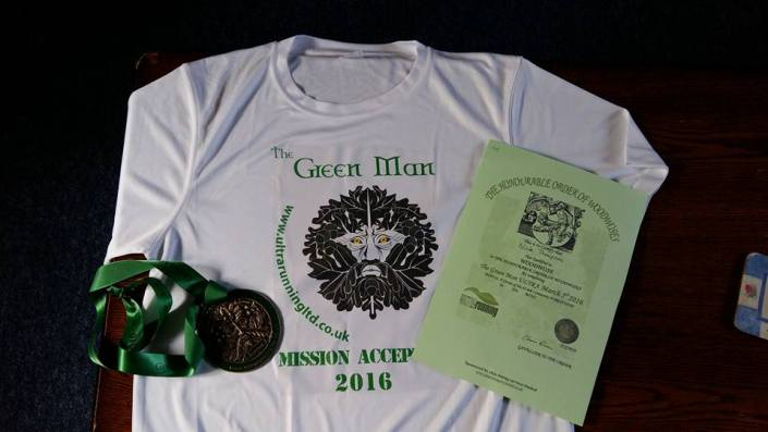 Chasing the Green Man by Nick The Ultrarunner